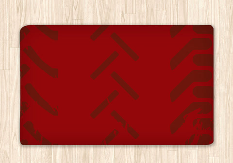 Motocross Area Rug Personalized, Red - 2cooldesigns