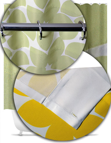 Motocross Shower Curtain, Motorcycle Bathroom Decor - 2cooldesigns