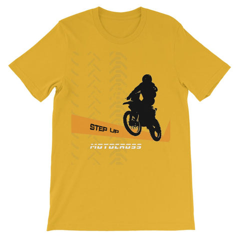 Motocross Orange and Black Kids TShirt - 2cooldesigns