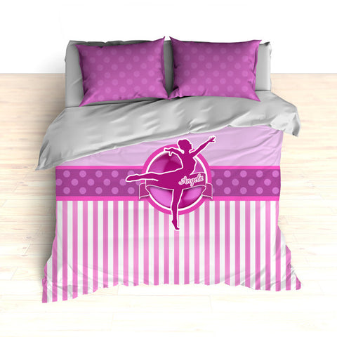 Dance Theme Bedding, Duvet or Comforter Sets, Ballet and Dance - 2cooldesigns