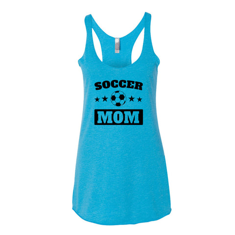 Soccer MOM, Women's tank top - 2cooldesigns