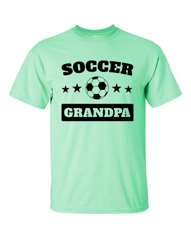 Soccer Grandpa Short sleeve t-shirt - 2cooldesigns