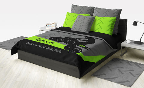 Quad Dirt Bike ATV Motocross Bedding - 2cooldesigns