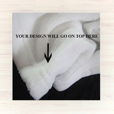 Personalized Fleece Blanket Throw - Personalized Dance Throw Blanket - Gift Idea - 2cooldesigns