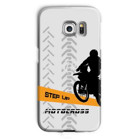 Motocross Orange and Black Phone Case - 2cooldesigns