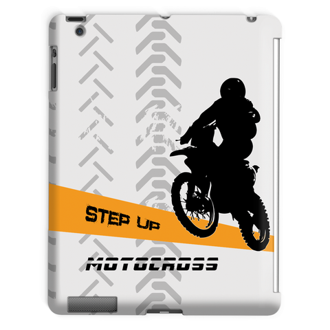 Motocross Orange and Black Tablet Case - 2cooldesigns