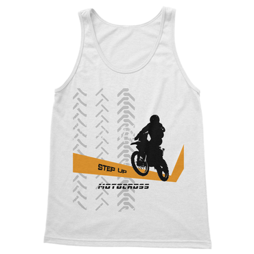 Motocross Orange and Black Softstyle Tank Top - 2cooldesigns