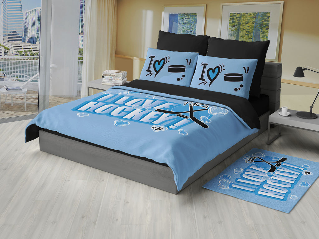 hockey themed bedroom