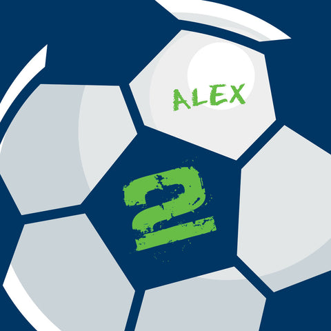 Personalized Soccer Ball Bedding, Duvet or Comforter Sets, Any Color - 2cooldesigns