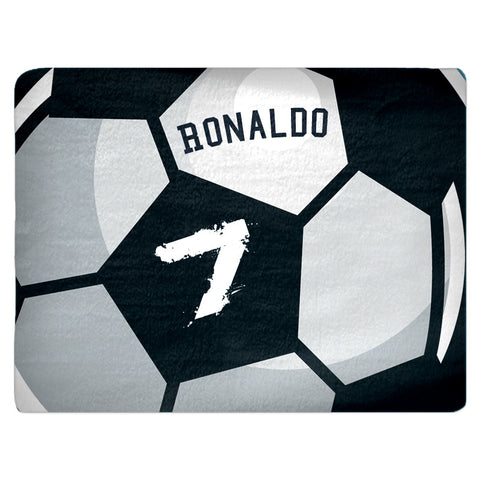 Custom Soccer Ball Area Rug Fuzzy, Personalized Area Rugs and Mats - 2cooldesigns