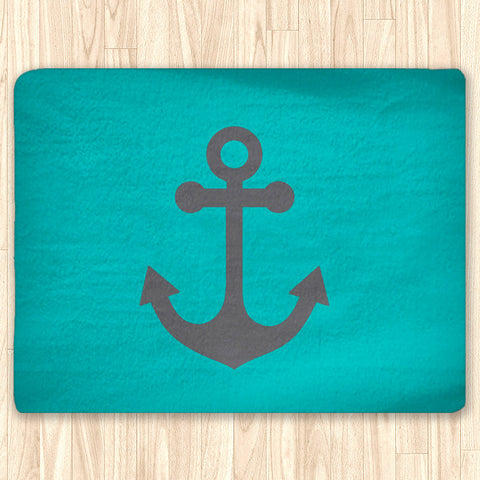 Custom Nautical Area Rug Fuzzy, Personalized Area Rugs and Mats - 2cooldesigns