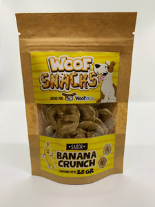 Snacks para Perros Banana Crunch (pets)