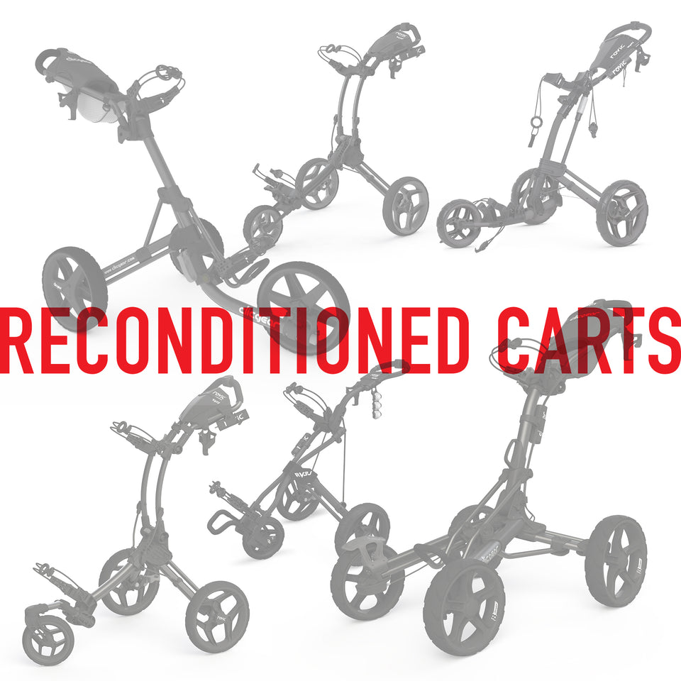 Reconditioned Clicgear / Rovic Carts - CLICGEAR | ROVIC USA