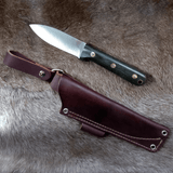 LT Wright Knives - Genesis - AEB-L steel with red liners