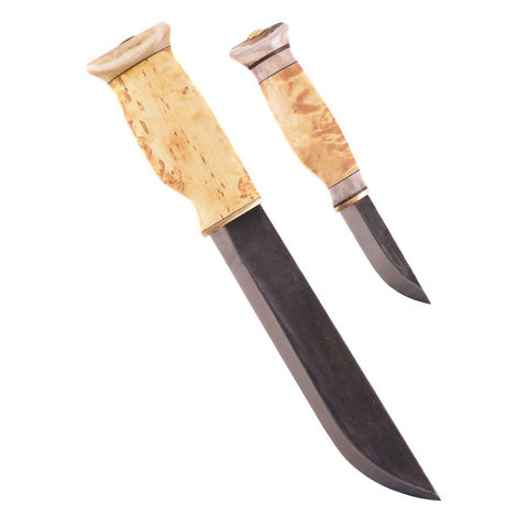 Wood Jewel Puukko / Leuku Combo - Double knife set