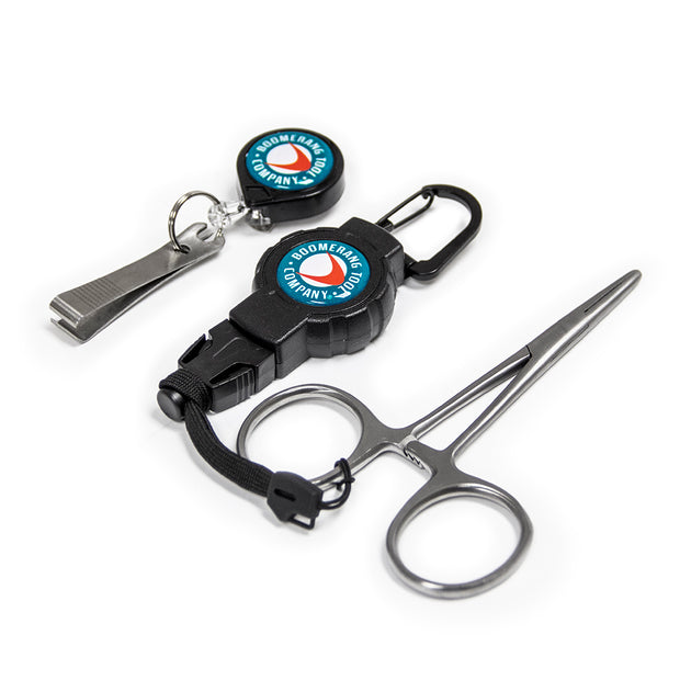 Fisherman's Combo (Zinger, Nippers, Forceps and Gear Tether)