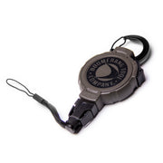 Electronics Retractable Hunting Gear Tether with Switch Lock and Removable Electronics Attachment