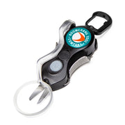 Long SNIP Cheaters Fishing Line Cutter with Fly Trimming Magnifying Glass, Cuts 50 lb. Braided Fishing Line