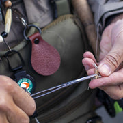 Fly Fishing Forceps with a Heavy Duty Retractable Fishing Gear Tether