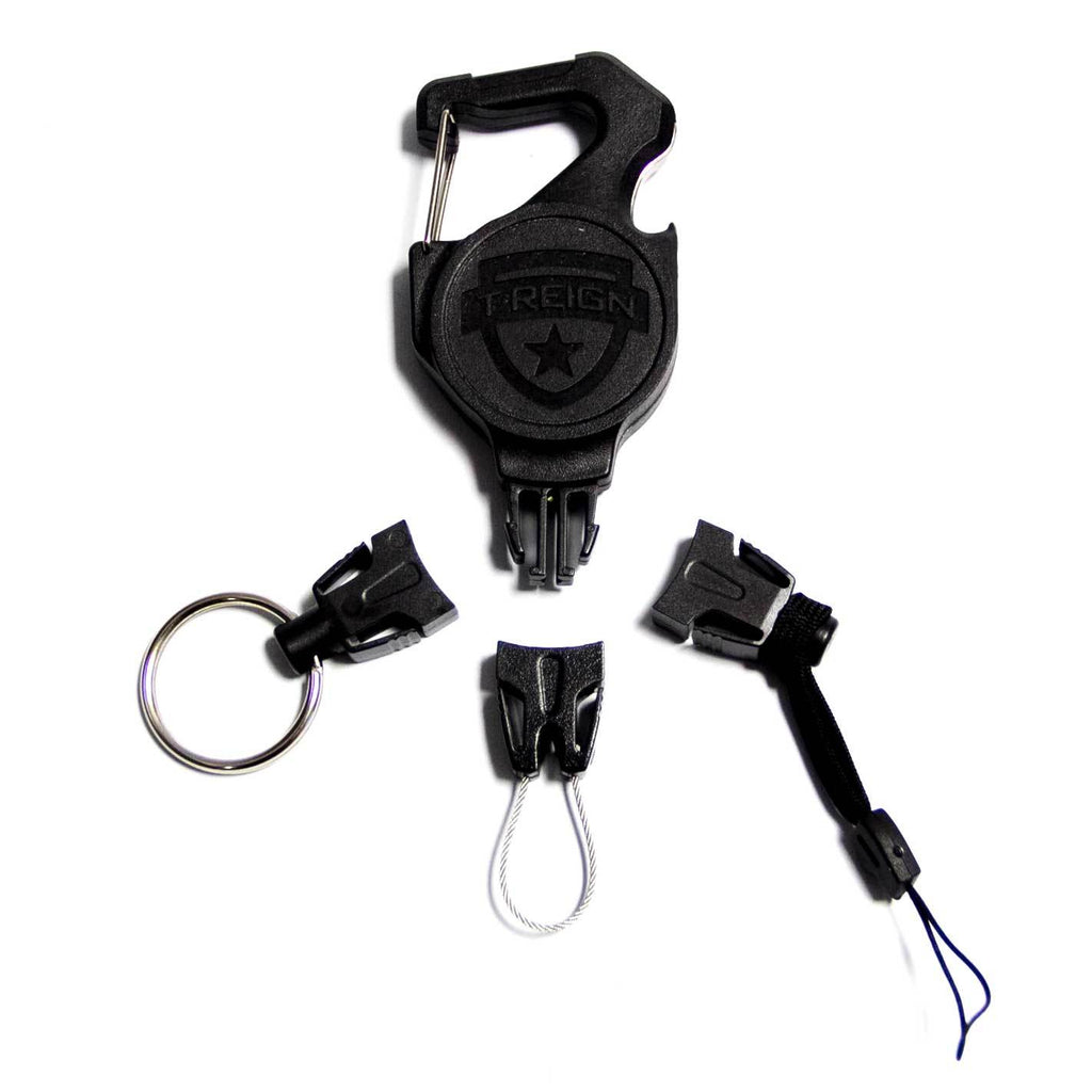 Small Carabiner Retractable Gear Tether Combo