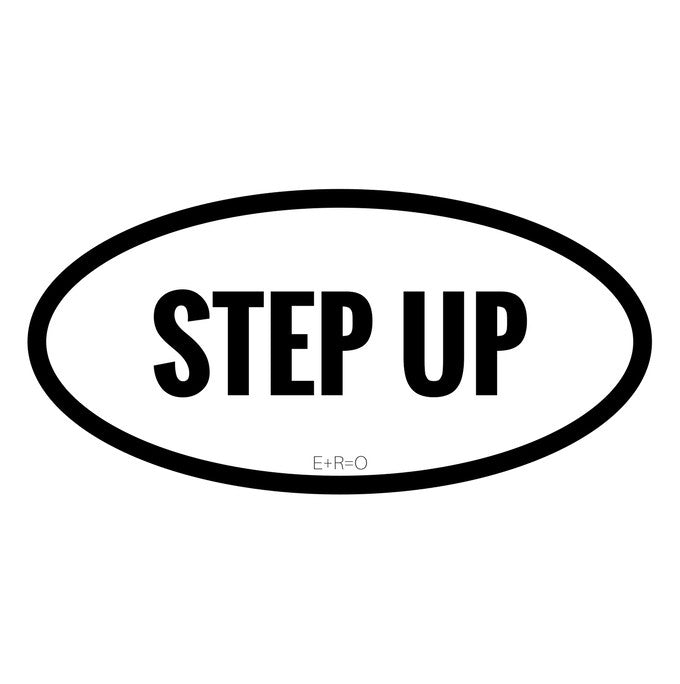 Sticker - R:3 Step Up