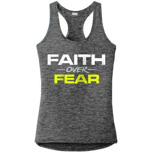 Faith Over Fear Girl's Performance Tank
