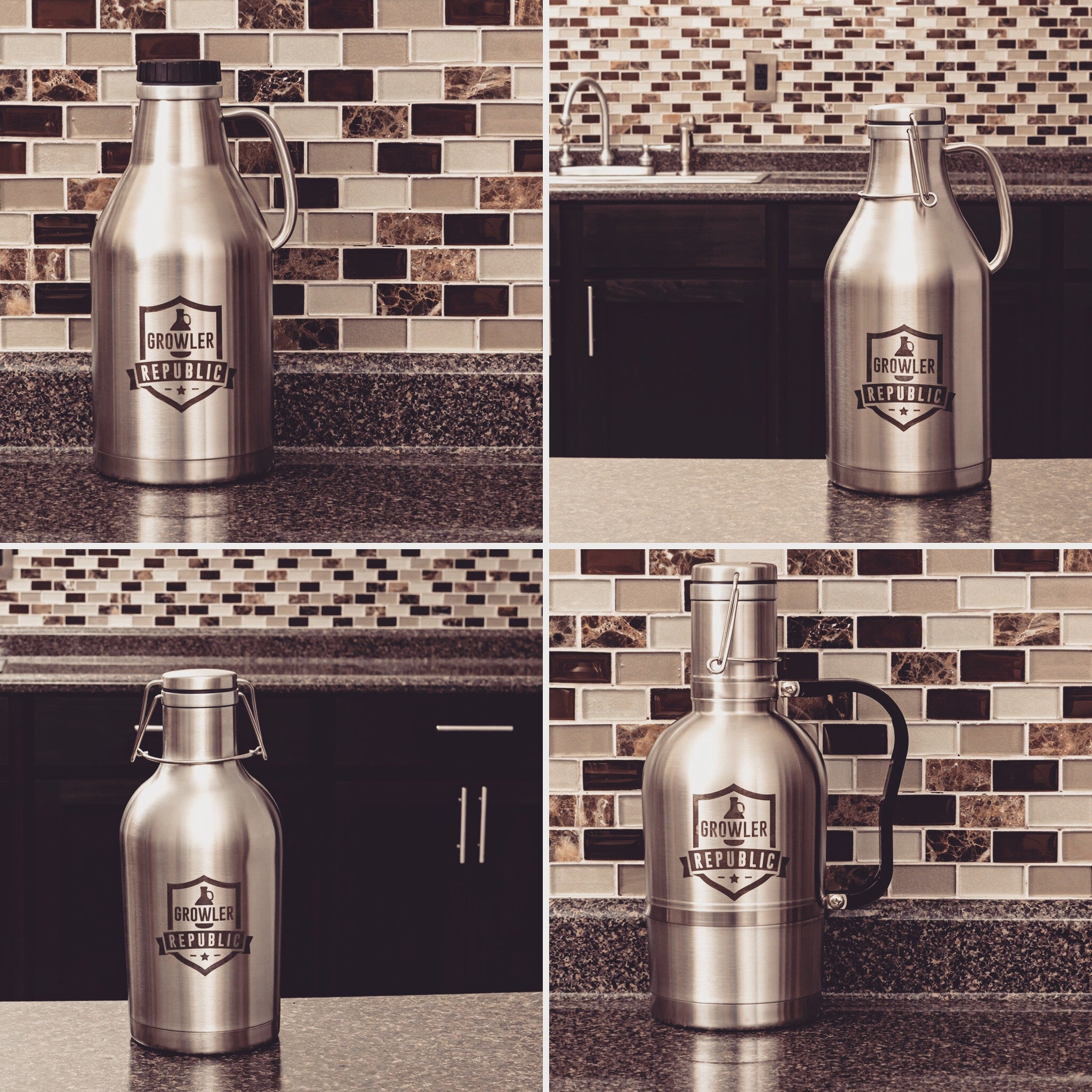 All growlers back in stock!