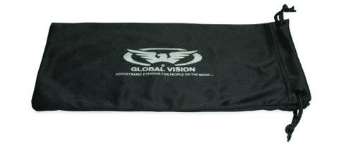PROTECTIVE EYE GLASS POUCH BLACK