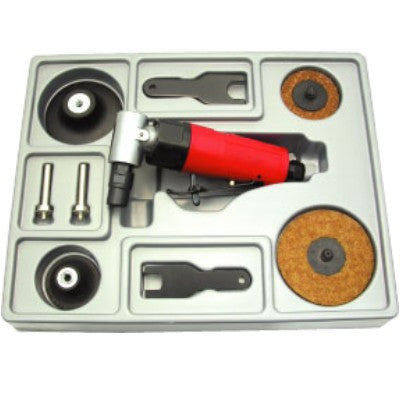 "1/4"" Air Angle Die Grinder Kit With Free Shipping"