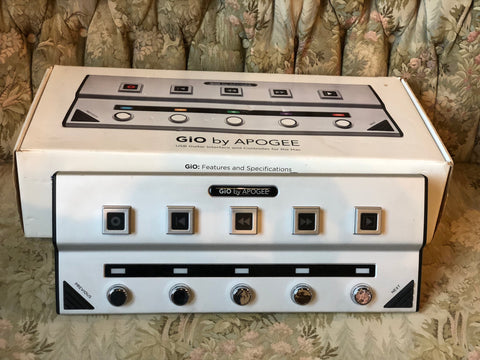 GiO by Apogee Guitar Interface
