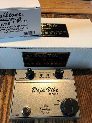 Fulltone Custom Shop Mini Deja'Vibe