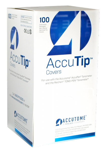 Accutome AccuTip Covers (Individually Wrapped) - Optics Incorporated