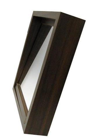 Dovetail Wood Traditions Shadow Box Mirror Set, Laminated - Optics Incorporated