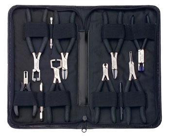 Hilco Vision 12 Piece ErgoPro Rimless Pliers Kit - Optics Incorporated