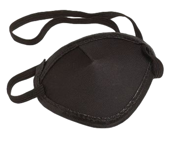 Hilco Vision Supplies Children's Eye Patch with Elastic Band (12 per package)