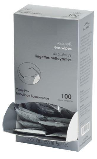 Hilco Vision Ultra Soft Lens Wipes (100 per box) - Optics Incorporated