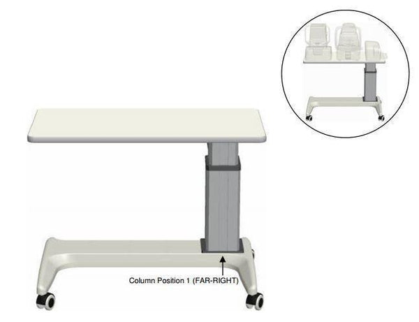 K2 Tables Wheelchair Accessible Instrument Table - Optics Incorporated