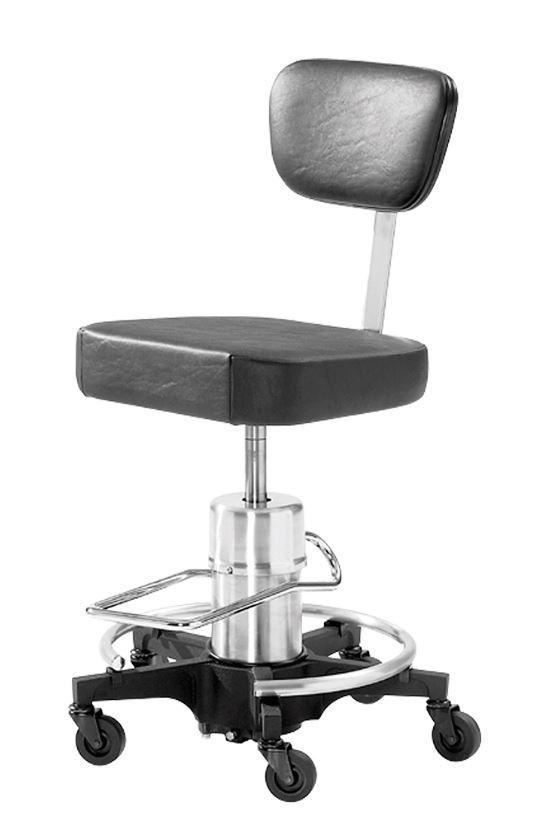 Reliance 548 Hydraulic Stool with Waterfall Seat - Optics Incorporated