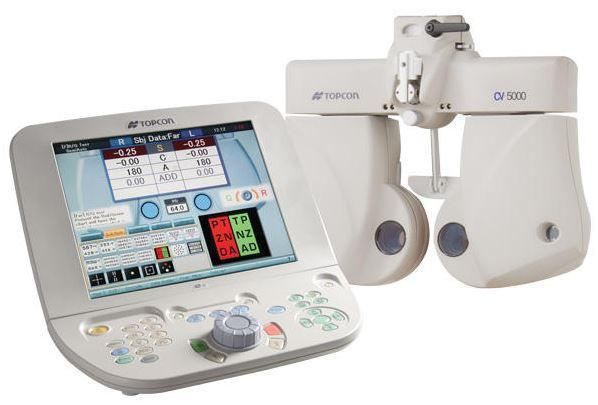 Topcon CV-5000S Automated Vision Tester - Optics Incorporated