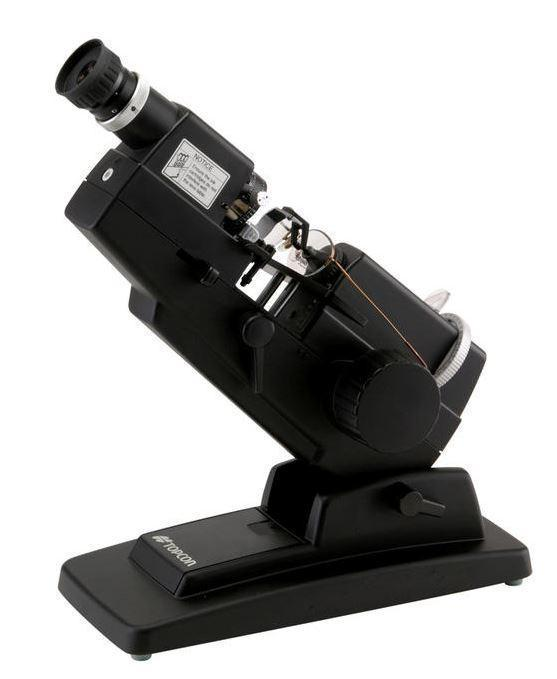 Topcon LM-8E Lensmeter with External Scale Reading - Optics Incorporated