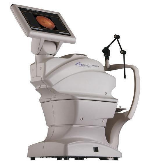 Topcon TRC-NW400 Non-Mydriatic Retinal Camera - Optics Incorporated