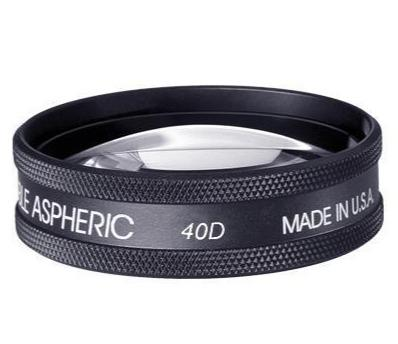 Volk 40D Large, Clear Lens - Optics Incorporated