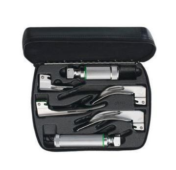 Welch Allyn Macintosh Fiber Optic Laryngoscope Set LED - Optics Incorporated