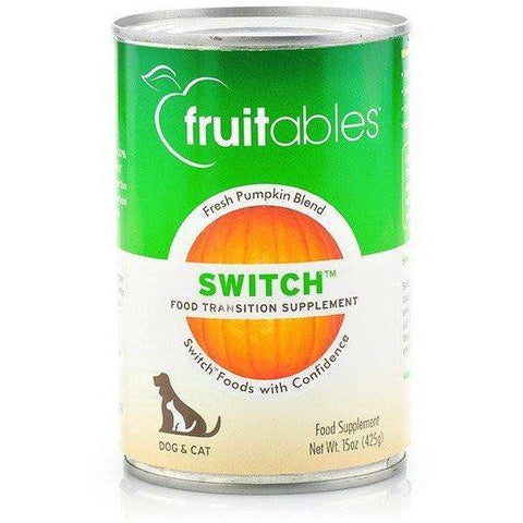 Fruitables Switch Transition Pumpkin, Canned Dog Food, Vetscience LLC - PetMax