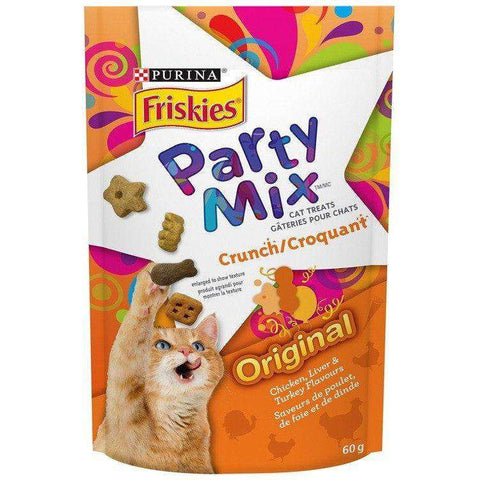 Friskies Party Mix Original Crunch, Cat Treats, Nestle Purina PetCare - PetMax