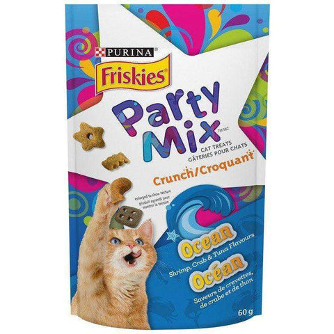 Friskies Party Mix Ocean Crunch, Cat Treats, Nestle Purina PetCare - PetMax