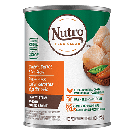 Nutro Canned Dog Food Cuts In Gravy Tender Chicken, Carrot & Pea Stew  Canned Dog Food - PetMax