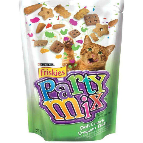 Friskies Party Mix Deli Crunch, Cat Treats, Nestle Purina PetCare - PetMax