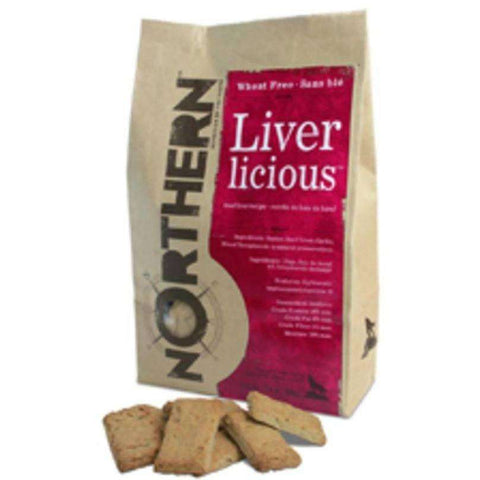Northern Biscuits Liverlicious, Dog Treats, Northern Pet Products Inc. - PetMax Canada