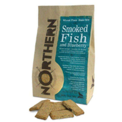 Northern Biscuits Smoked Fish & Blueberries, Dog Treats, Northern Pet Products Inc. - PetMax Canada